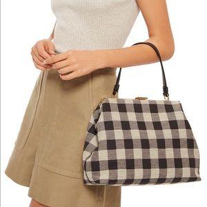 Mansur Gavriel check lady bag